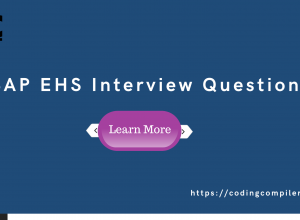SAP EHS Interview Questions And Answers