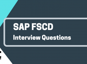 SAP FSCD Interview QUestions