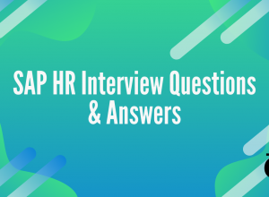SAP HR Interview Questions