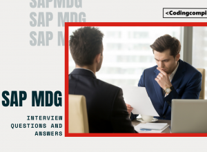 SAP MDG Interview Questions