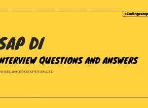 SAP DI Interview Questions