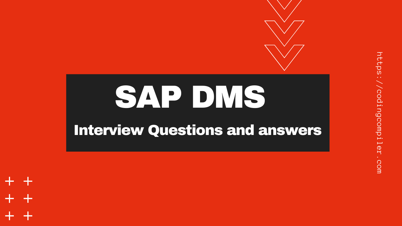 sap dms interview questions and answers