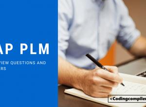 SAP PLM Interview Questions