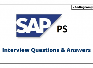 SAP PS Interview Questions