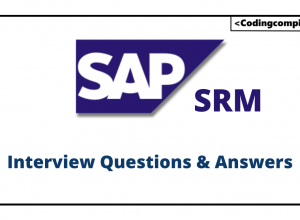 SAP SRM Interview Questions
