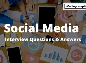 Social Media Interview Questions