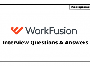 Workfusion Interview Questions