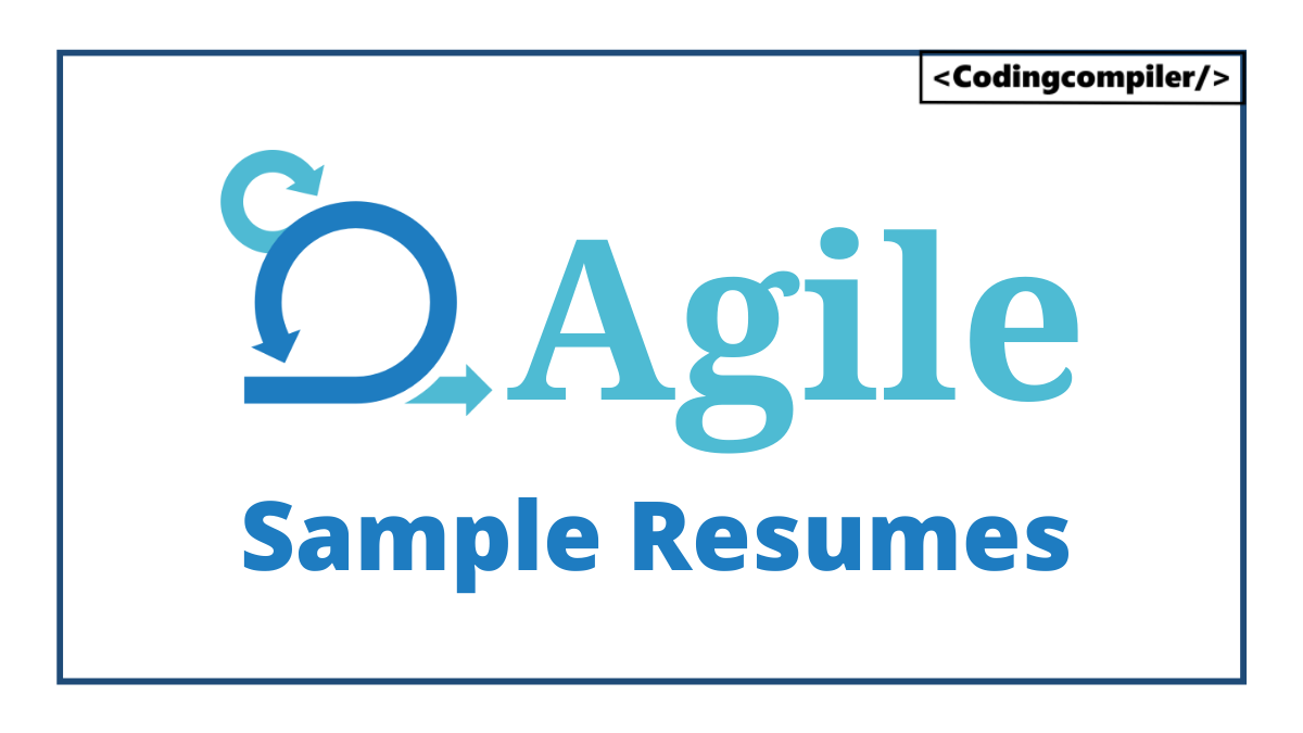 Agile Sample Resumes