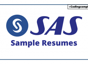 SAS Sample Resumes