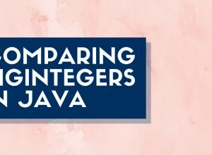 Comparing BigIntegers in Java