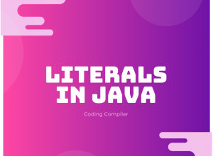Literals in Java