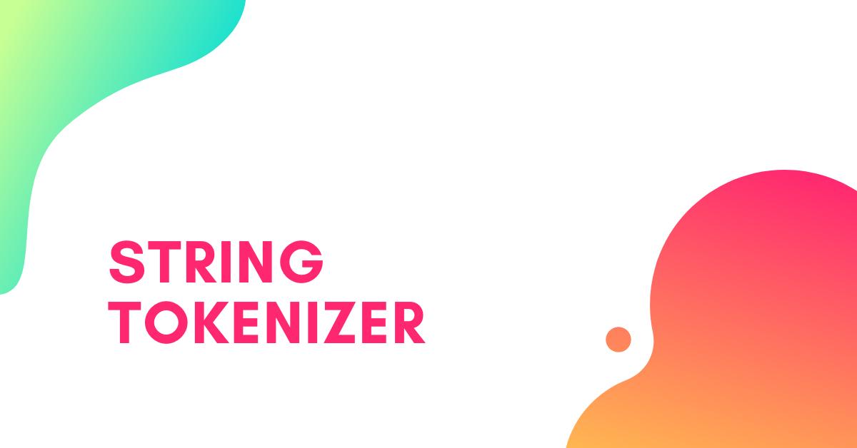 String Tokenizer in Java
