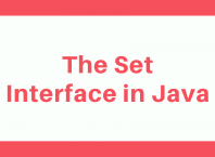 The Set Interface in Java