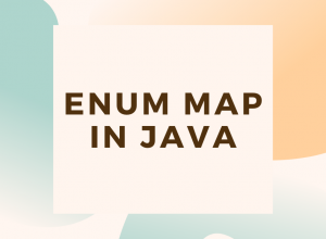 ENUM Map in Java